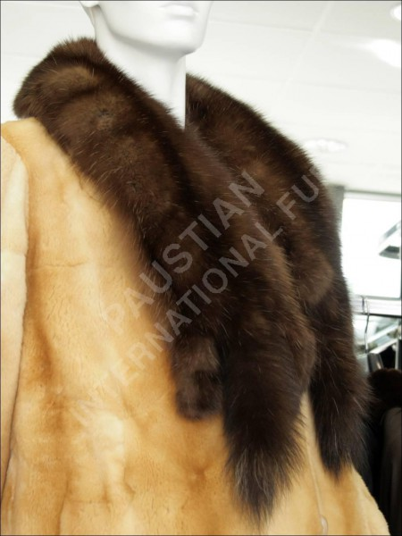 178 Sable fur collar - dark Barguzin sable furs