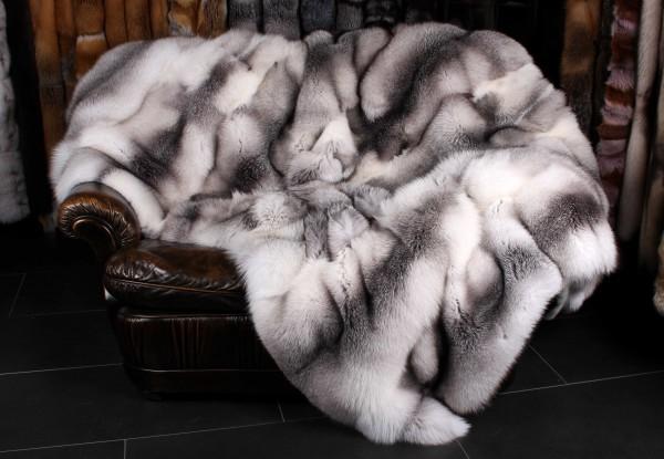 Shadow Blue Frost Fox Blanket