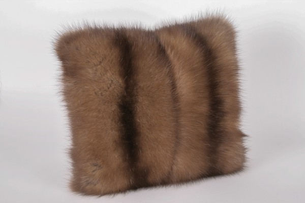 Little sable pillow made from russian sables
