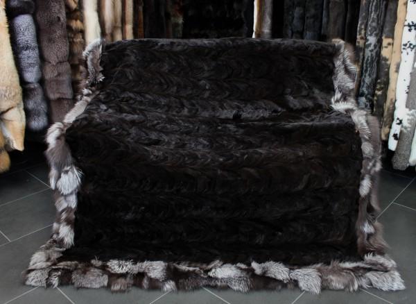 Trimmed Minkpaws dark-brown