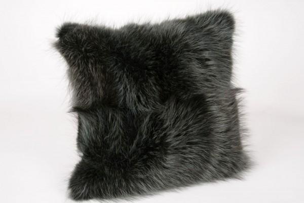 Dark green Raccoon Pillow
