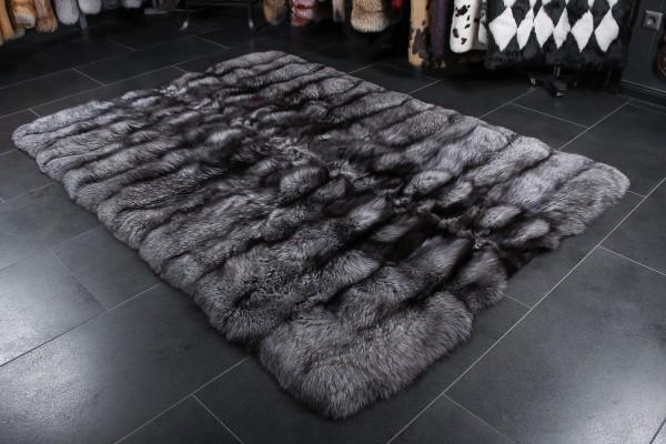 Silverfox Fur Rug SAGA Furs