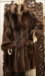 Luxurious Russian Barguzin sable jacket