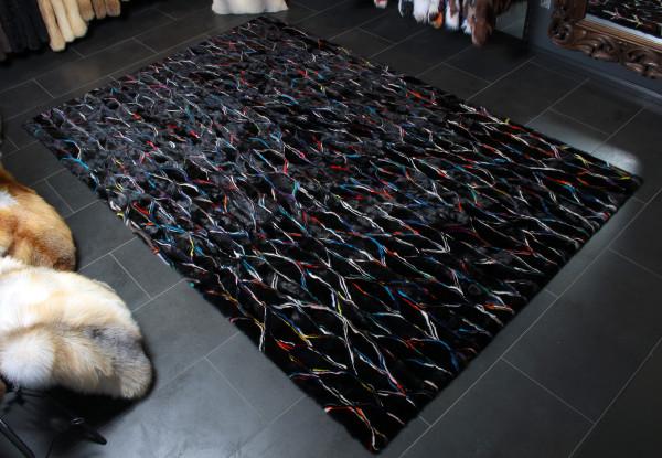 Scandinavian Mink Fur Deco Carpet