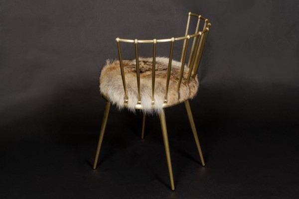 Canadian Coyote Cantori Chair