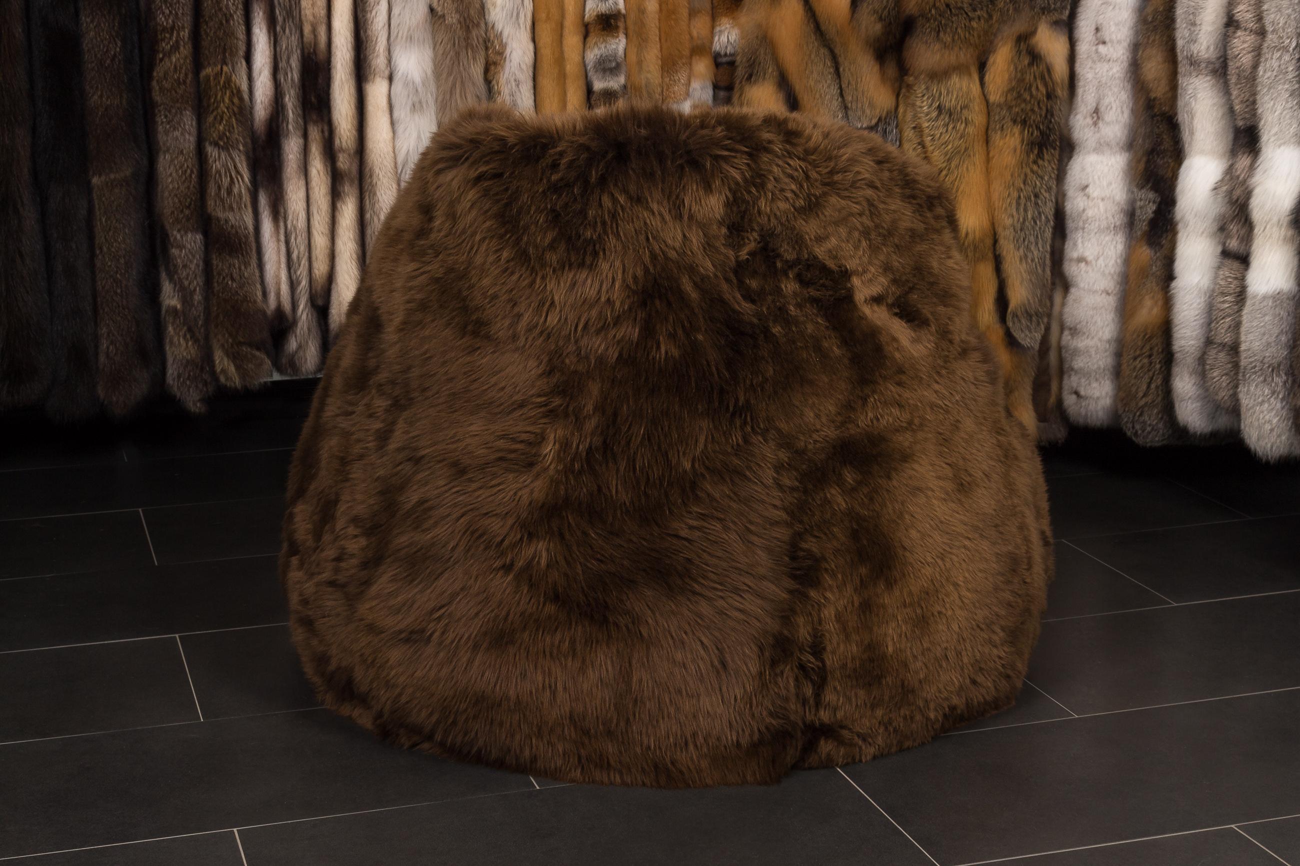 Lamb Fur Bean Bag Master Furrier Online Furs