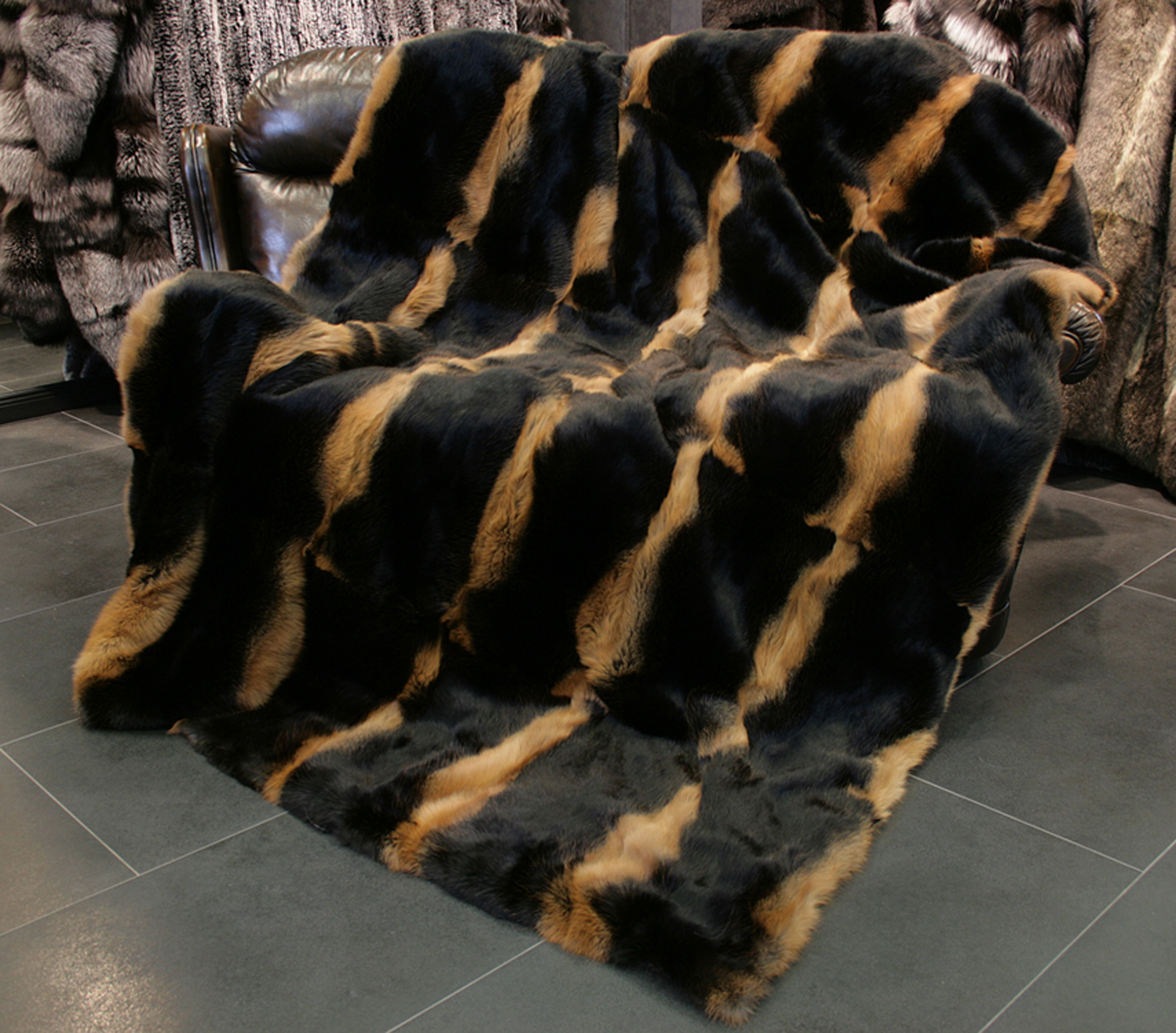 Entertainment Memorabilia Natural Genuine Color Rabbit Fur Skin Pelt Rug Blanket For Home Textile Like Chairs Soft And Light