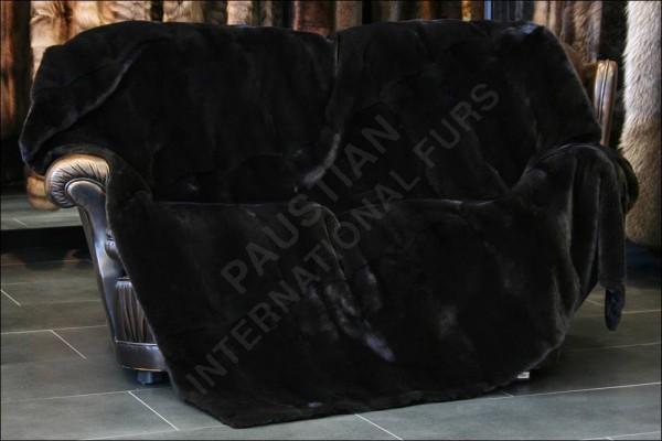 Mink fur blanket - NAFA - OA