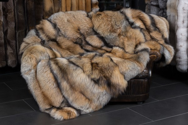 Natural Smokey Fox Blanket