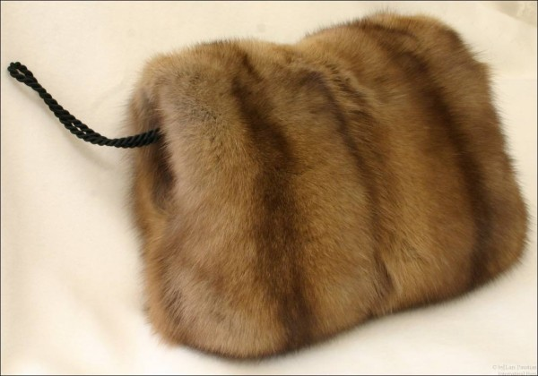 Russian Barguzin sable fur muff