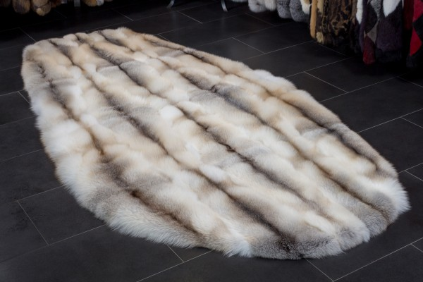 Fawnlight Fox Rug - Oval Shape