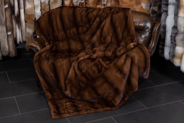 Glow Mink Blanket - Real Fur