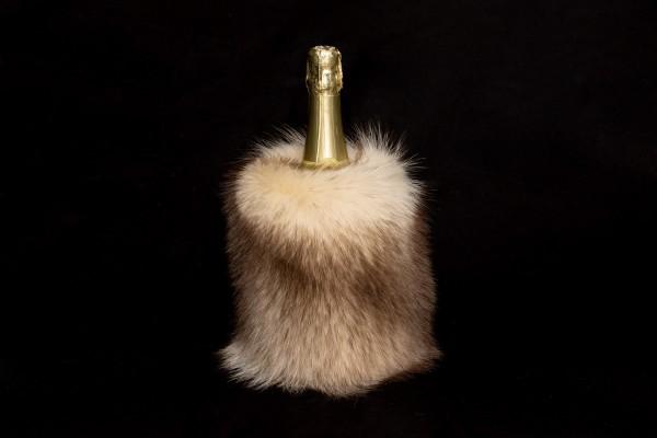 Enfriador de botellas de vino de mapache canadiense
