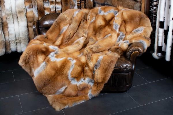 Canadian Wildfur Red Fox Blanket