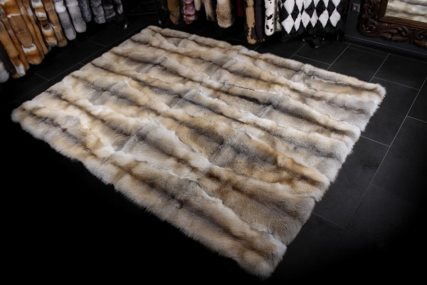 Fawnlight Fur Carpet Natural Colored (SAGA Fur)
