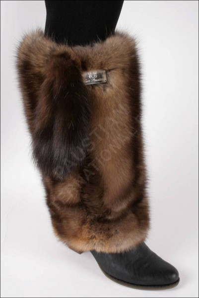 Beautiful fur cuffs made from russian barguzin sable.