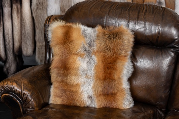 European Red Fox Pieces Cushion