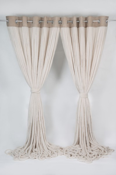 Mink Drapes Fur Curtains - Interior Design