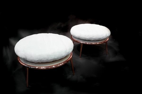 Cantori Chair (White Mink)