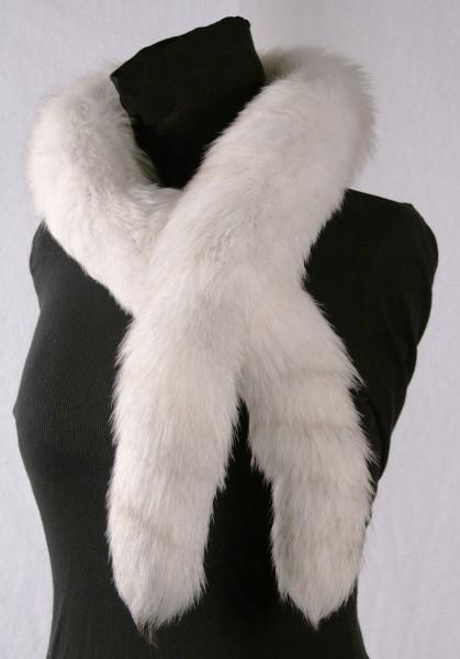 Noble blue fox Fur Boa