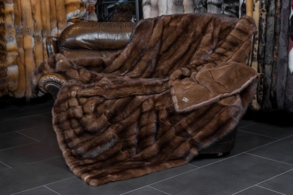 Sable Fur Blanket made from Barguzin sable