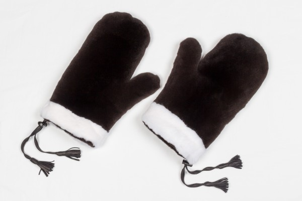 Double Sided Mink Fur Gloves