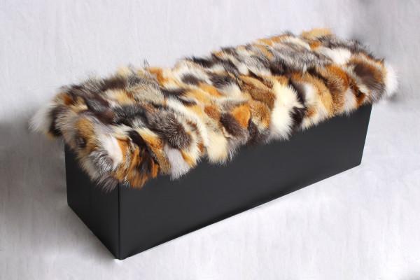 Genuine Fox Fur Sitting Chair