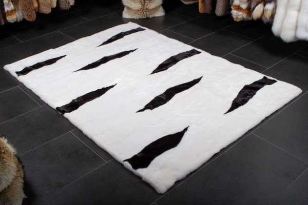 Fur Carpet from Scandinavian Minks