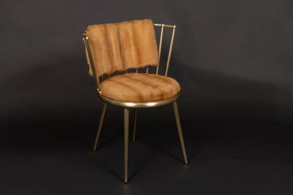 Fur Chair with Russian Kolinsky