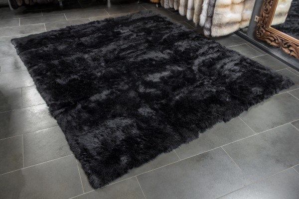 Lamb fur carpet made from australian lamb furs