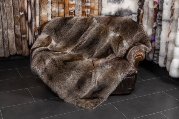 Top-Lot 2018 Raccoon Fur Blanket