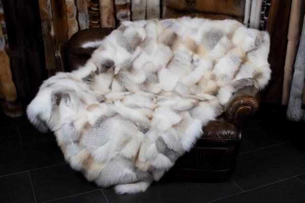 Fawnlight Fox Fur Blanket - Patchwork