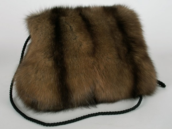 Sable muff made from russian barguzin sable