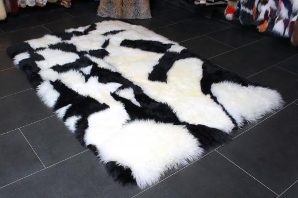 Cordero australiano blanco natural - Alfombra de piel