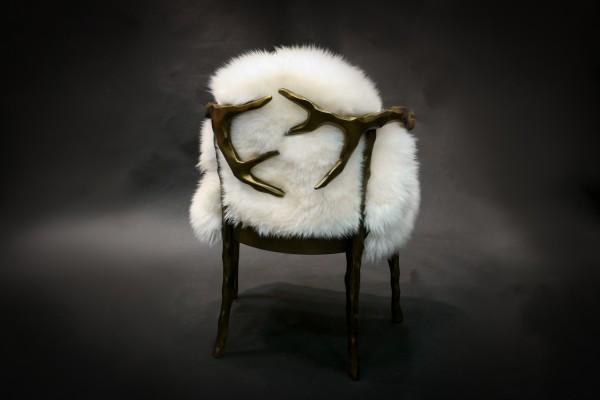 Antlers Chair Australian Lamb