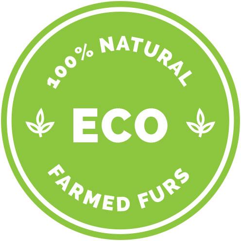 ECO - 100% Natural Farmed Furs