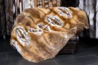 Manta de piel de zorro rojo europeo - Tipo ligero