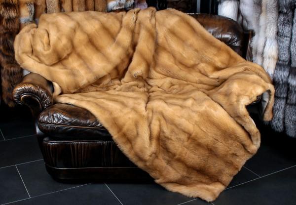 Weasel Fur Blanket - Russian Kolinskys