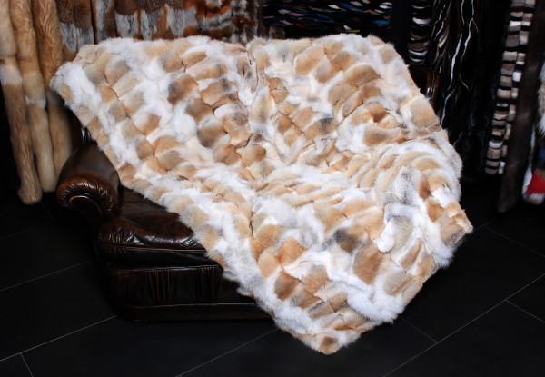 Coyote fur blanket - NAFA auction