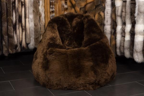 Lamb Fur Bean Bag