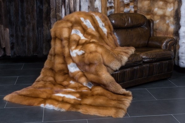 Canadian Red Fox Blanket - Top Lot Award 2017
