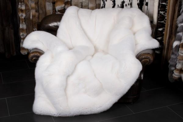 Shadow Fox Fur Throw - Fur On Both Sides
