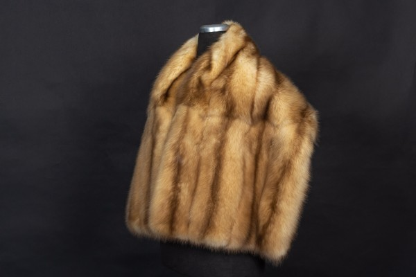 Sable Fur Stola with Russian Gold Sables