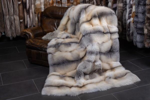 "Fawnlight Fox Fur Blanket ""Vanilla"""