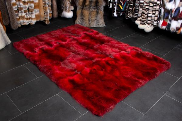 Genuine Red Fox Fur Rug - Wild Fur