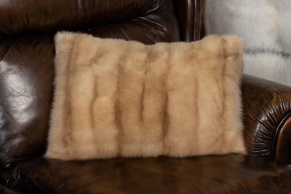 Genuine Russian Sable Fur Cushion