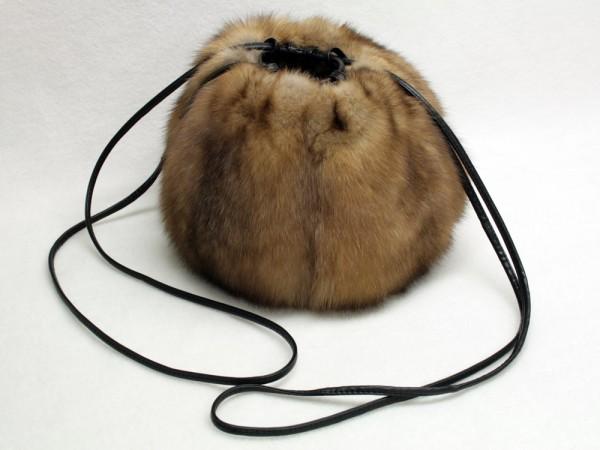Sable muff bag