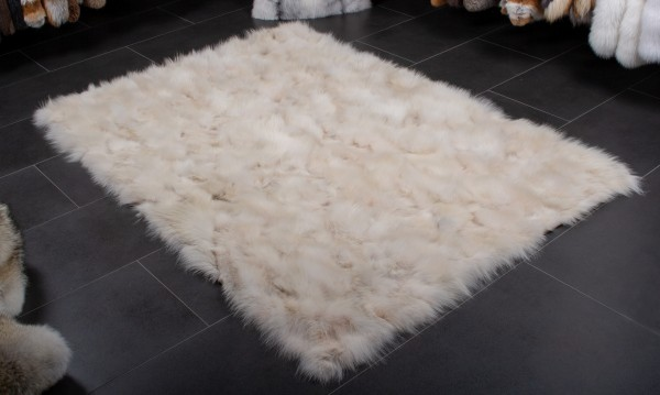Canadian Coyote Fur Rug