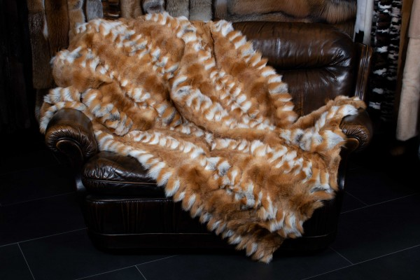 Canadian Red Fox Throw