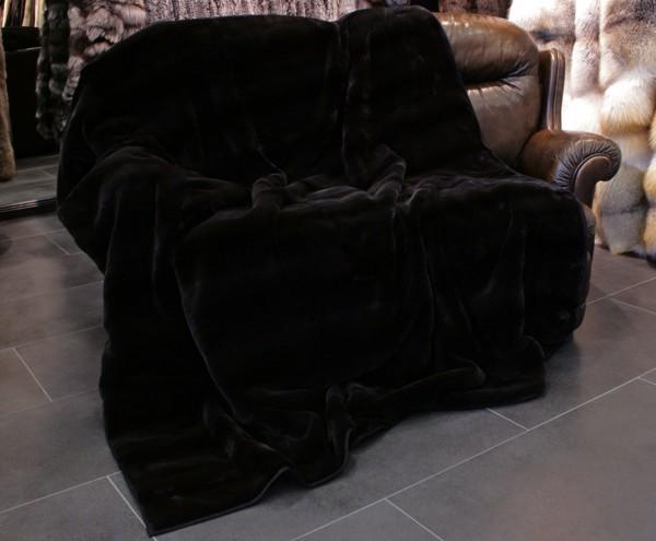 Plucked SAGA Mink Fur Blankets